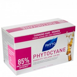 Phyto Phytocyane Ampul 12 x 7.5 ml Kadın Tipi Saç Dökülmesi