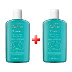 Avene Cleanance Gel Nettoyant 200 ml 2 li Avantaj Paket