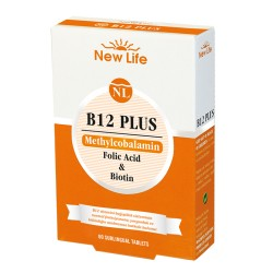 NewLife B 12 Plus  60 Dilaltı Tablet 3 lü Avantaj Paket