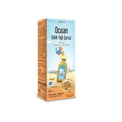 Ocean Portakal Aromalı Balık Yağı Şurup 150 ml