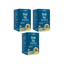 Ocean Plus Omega 3 Saf Balık Yağı 1200mg 50 Kapsül - 3 lü Avantaj Paket