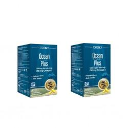 Ocean Plus Omega 3 Saf Balık Yağı 1200mg 50 Kapsül - 2 li Avantaj Paket