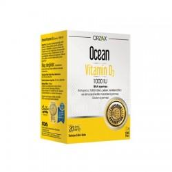 Ocean Vitamin D3 Sprey 1000 IU 20 ml S.K.T 03 / 2020