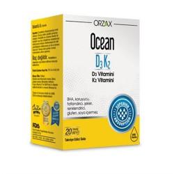 Ocean Vitamin D3 Damla 1000 IU 50ml - 3 lü Avantaj Paket