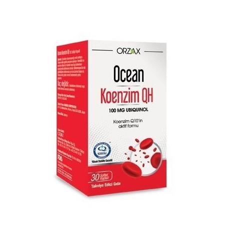 Ocean Koenzim Q10 100 mg 30 Softjel Kapsül - 3 lü Avantaj Paket