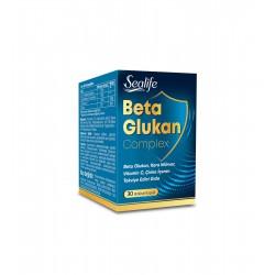 SeaLife Beta Glukan Complex - 30 Bitkisel Kapsül
