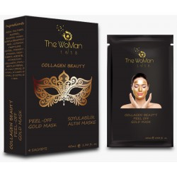The WoMan 1618 Collagen Beauty Peel - Off Gold Mask