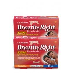 Breathe Right Extra Burun Bandı 4 lü Avantaj Paket