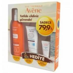 Avene Spray SPF 50 200 ml + Güneş Sonrası Bakım Losyonu 50 ml + Hydrance Optimale Legere 15 ml